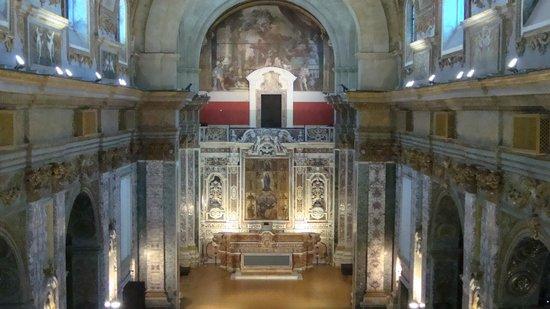 Museo Diocesano Napoli - Complesso Monumentale Donnaregina: Navata della Chiesa del 600