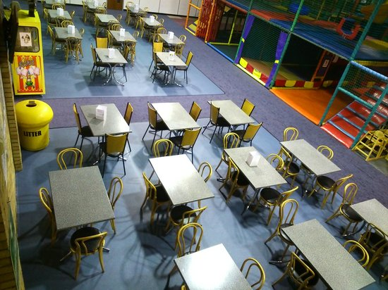 Activity World: Lovely new refurbished seating area