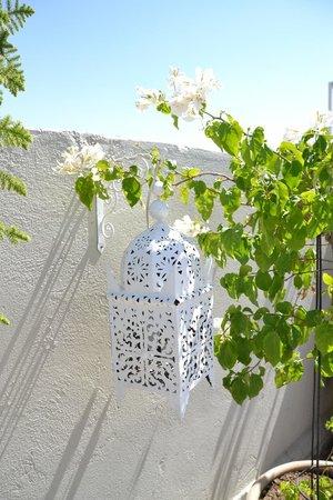 Riad Nesma: Detalle en la terraza