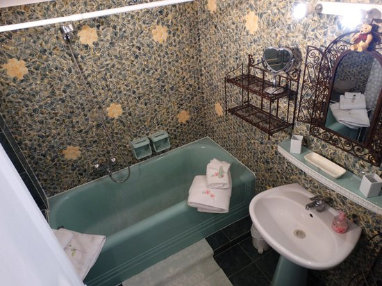 Byzance Cote Balcon: Salle de bain Byzance
