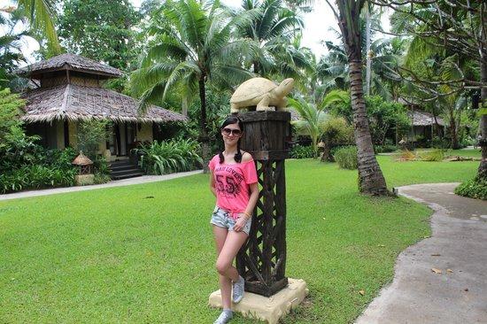 Centara Koh Chang Tropicana Resort: красивейшая и огромная террирория!