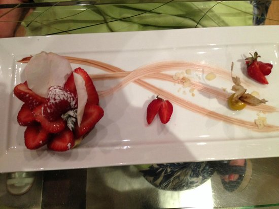 Dame Nature : Dessert alle fragole