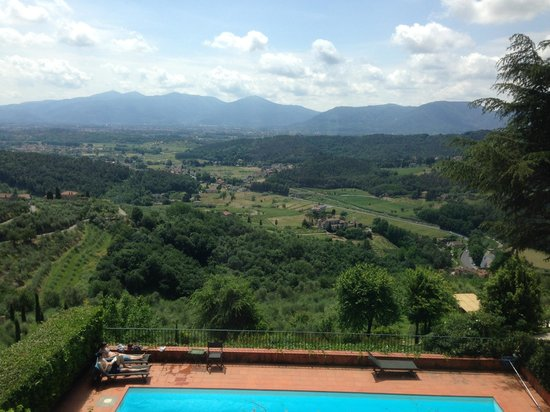 Relais La Cappella: View from the top