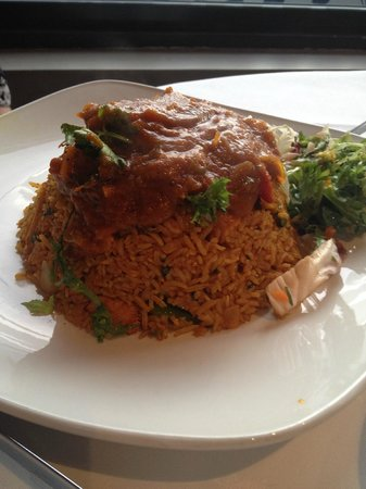 Cinnamon: Chicken biriyani