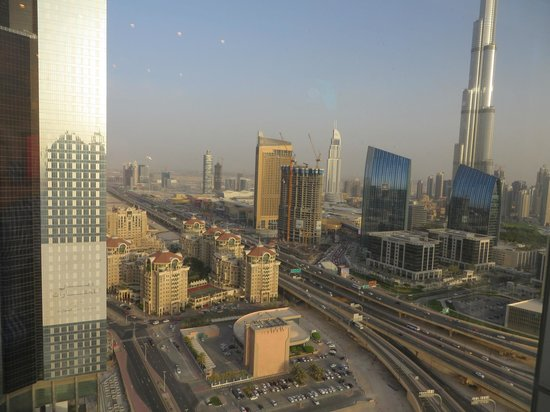 Dusit  Thani Dubai: View from Club lounge
