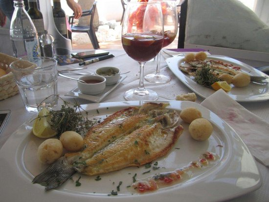 Azzurro Chill Out: Branzino