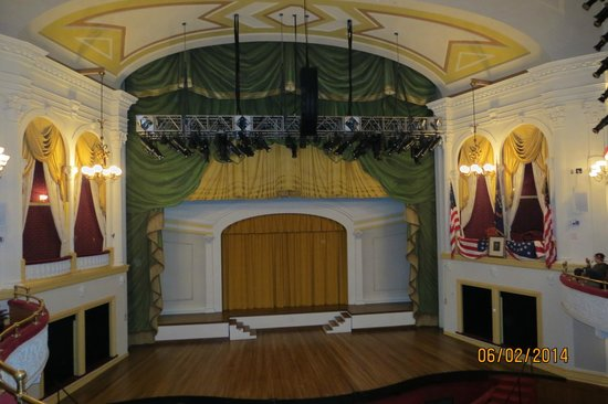 Ford's Theatre: Ford's Theater Stage