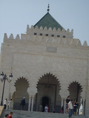 Mausolée de Mohammed V : Mausoleum of Mohammed V