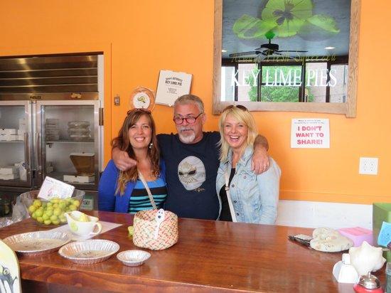 Famous Fat Dave's Food Tours : Steve's Key Lime Pie