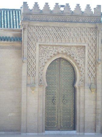 Mausolée de Mohammed V : Mausoleum of Mohammed V - Gate