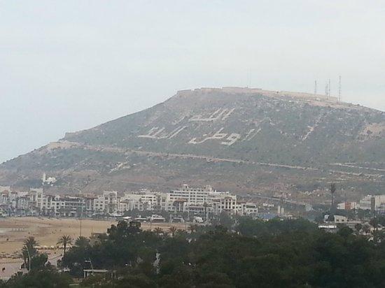 Royal Mirage Agadir Hotel : Widok z pokoju