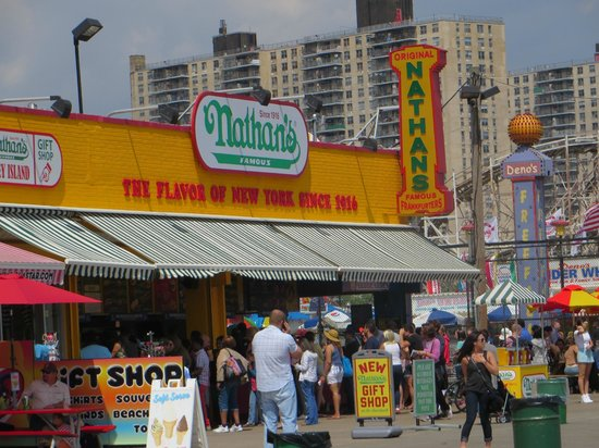 Famous Fat Dave's Food Tours: Nathan's - Coney Island