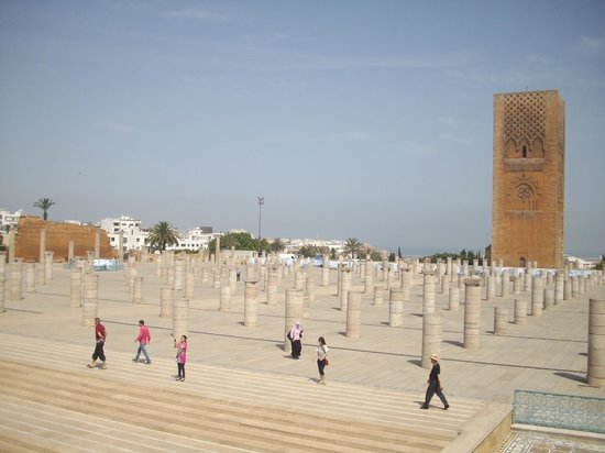 Hassan Tower & Mosque Pilings