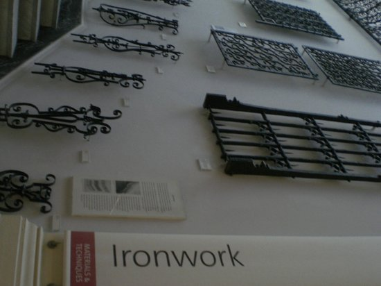 V&A  - Victoria and Albert Museum: Iron Works on Display