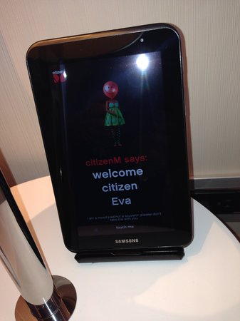 citizenM New York Times Square : Welcome