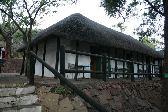 Punda Maria Restcamp: Semi-detached sleeping accommodation at Punda Maria