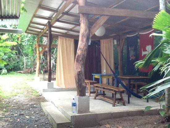 La Ruka Hostel: outdoor chillin area