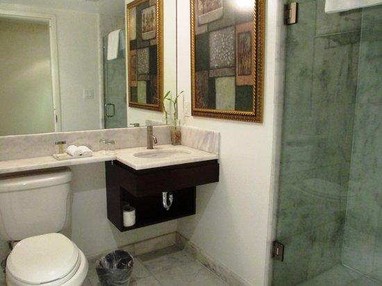 Carvi Hotel New York : Fantastic bathroom