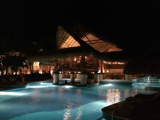 Excellence Riviera Cancun: Great picture of the swim up bar!