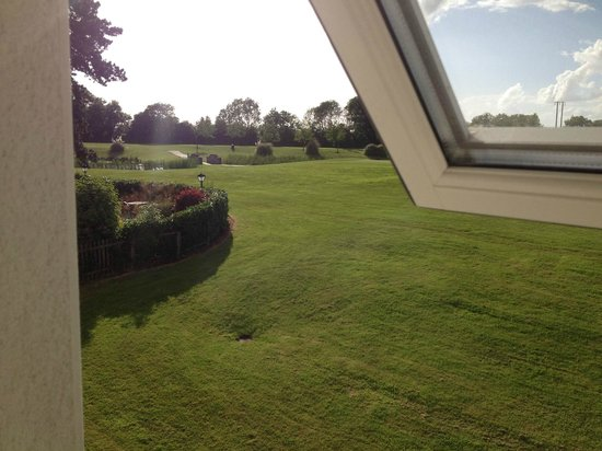 Roganstown Hotel and Country Club: View from window to the left
