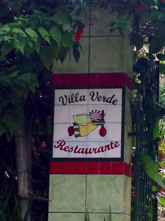 Restaurante Villa Verde : Villa Verde