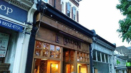 Photo of French Restaurant Le Bouchon Wine Bar at 72 Tranquil Vale, London SE3 0BN, United Kingdom