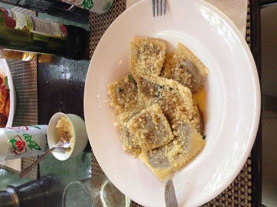 Restaurante Villa Verde : Ravioli ao Funghi
