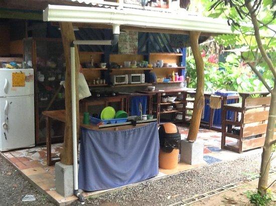 La Ruka Hostel : kitchen