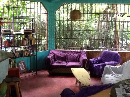 La Ruka Hostel: lounge area
