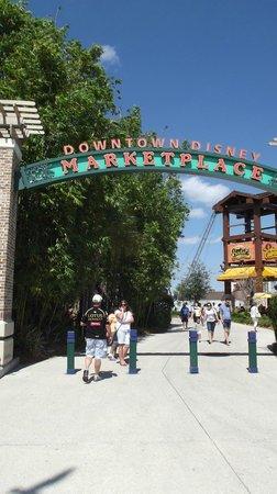 Disney Springs : Entrada