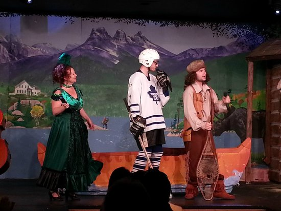 Oh Canada Eh? Dinner Theatre: Saloongal, Go Leafs and A Courier de Bois