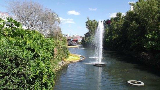 Disney Springs : Bela paisagem do local