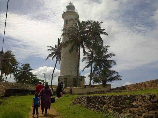 Galle Fort Lighthouse: The Lighthouse Galle Fort, Sri Lanka