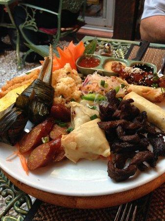 Le Cafe Thai: Entrée royale