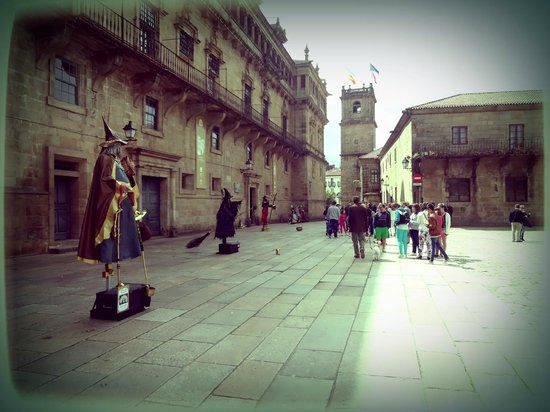 Plaza del Obradoiro : Praza de Obradoiro