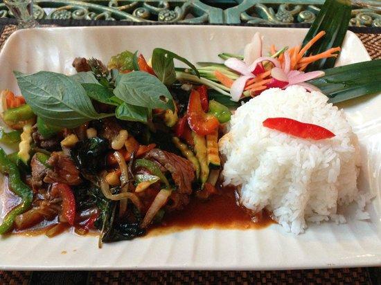 Le Cafe Thai: Boeuf sauce basilic thai