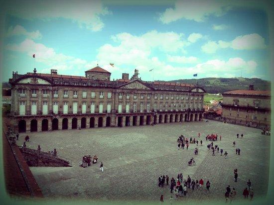 Plaza del Obradoiro : Câmara Municipal de Santiago