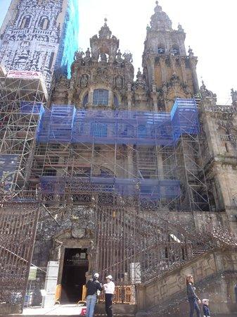 Plaza del Obradoiro : Catedral de Santiago de Compostela