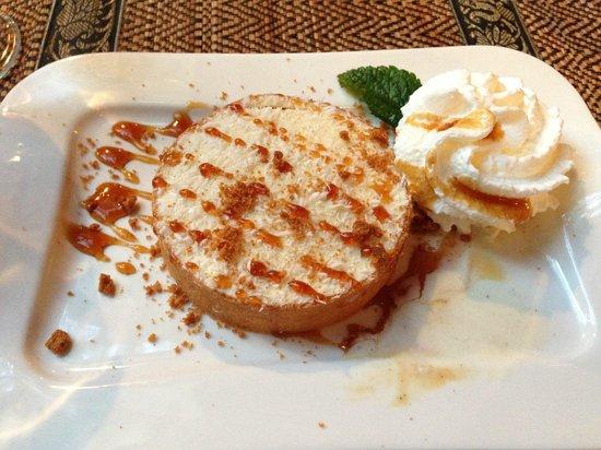 Le Cafe Thai: Tarte noix de coco