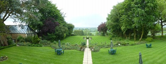 Charingworth Manor: View from room