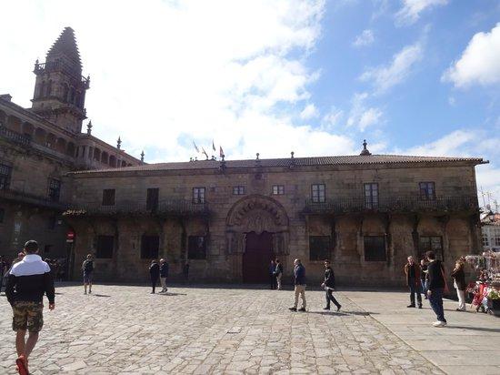 Plaza del Obradoiro : Colégio de San Xerome