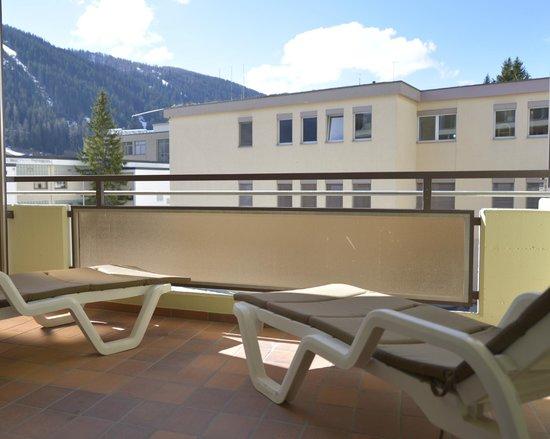 Spengler Hostel: Balkon