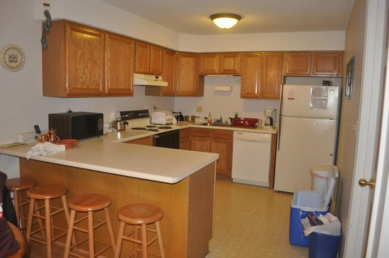 Nordic Inn Condominium Resort: Kitchen