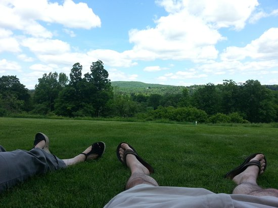Norman Rockwell Museum: Relaxation at its best!