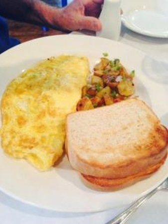 Yianni's Taverna: Omelette mushrooms