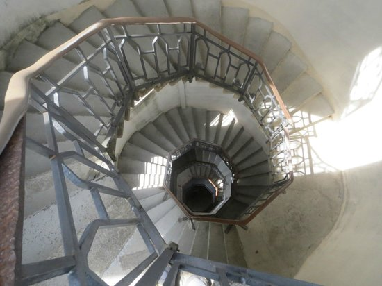 Faro voltiano: Inside the lighthouse
