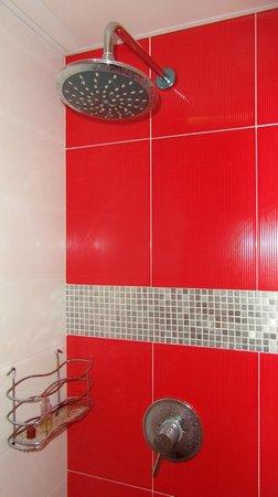 Apartamentos Casablanca Suites: ya me gustaría tener esta ducha en casa