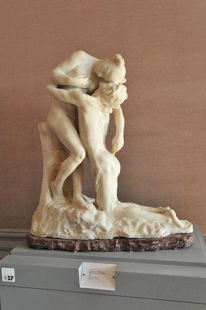 Musée Rodin : гипсовая скульптура