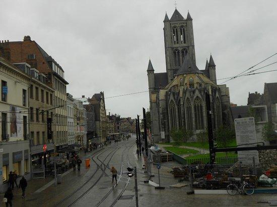 Catedral de San Bravo (Sint-Baafskathedraal): PARTE POSTERIOR IGLESIA SAN BRAVO