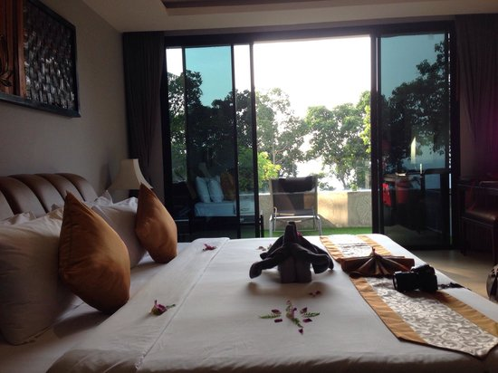Ayara Kamala Resort & Spa: My room with partial Sea View